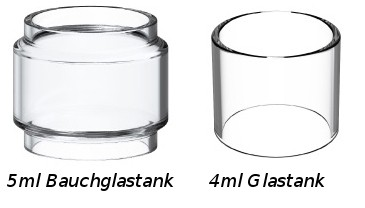 Geekvape Aero M. Ersatzglas 4ml/5ml