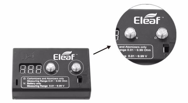 Eleaf Digital Ohmmeter & Voltmeter