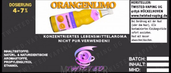 Aroma Orangenlimonade