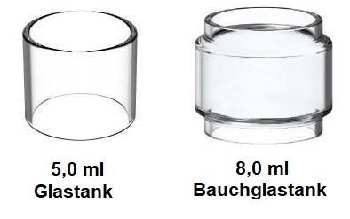 Vaporesso SKRR Ersatzglas 5ml/8ml