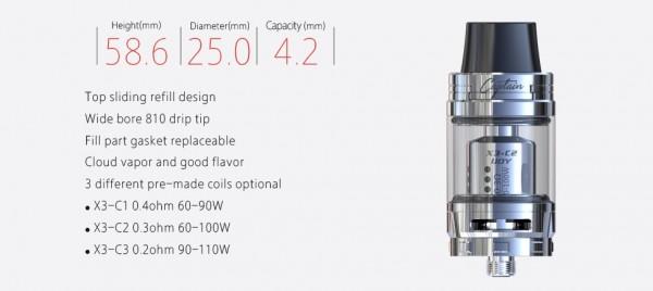 iJoy Diamond PD270 Kit mit Captain X3S Verdampfer