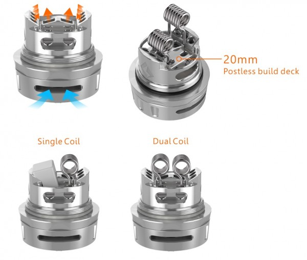 GeekVape Ammit Dual Coil Version RTA