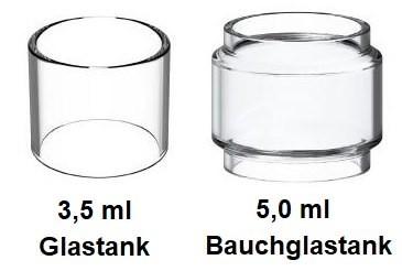 Innokin Scion 2 Ersatzglas 3,5ml/5ml