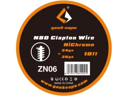GeekVape Clapton Wire - N80 - 3m