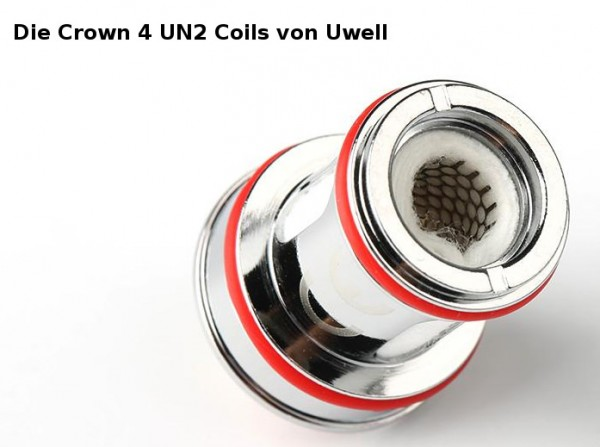 4 Uwell Crown 4 Coils