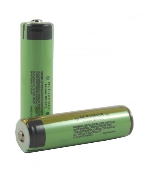 Panasonic NCR18650B  3400 mAh - ICR - (PCB geschützt)