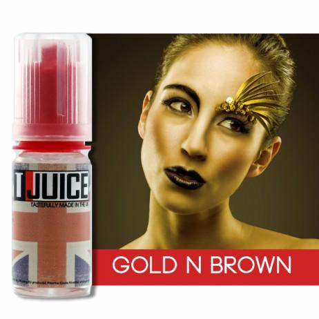 gold n brown aroma von t juice zum selbst mischen. Black Bedroom Furniture Sets. Home Design Ideas