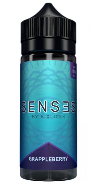 Liquid Grappleberry - Six Licks Senses 100ml/120ml