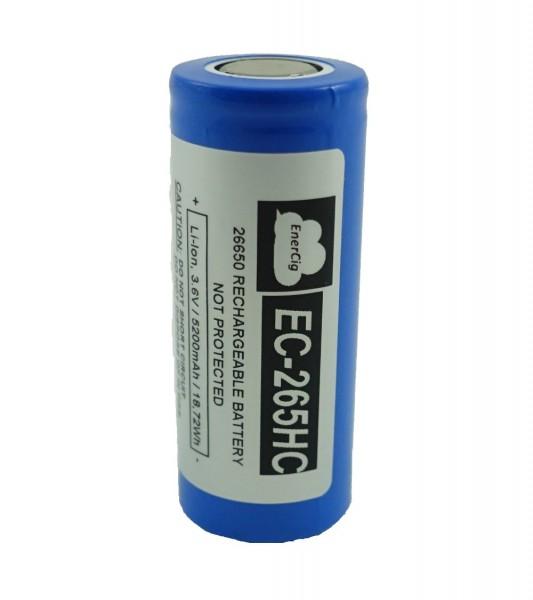 Enercig EC-26650HC 5200mAh - Flat Top