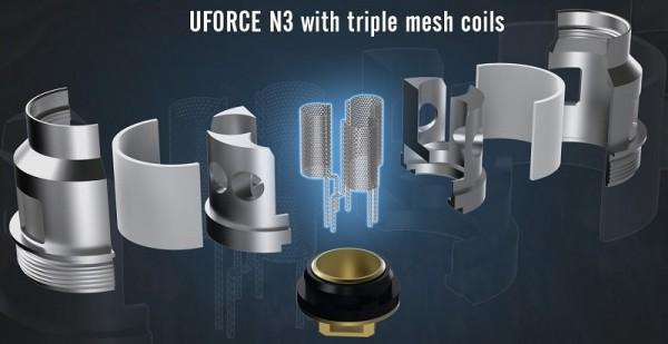 5 VooPoo UForce Coils