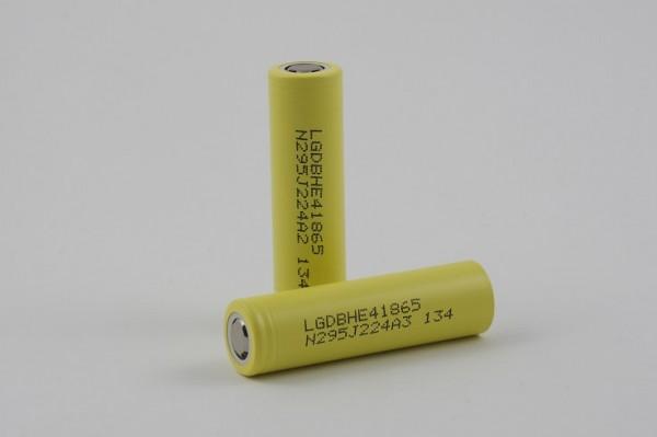 LG 18650 HE4 2500 mAh - ICR - Flat Top
