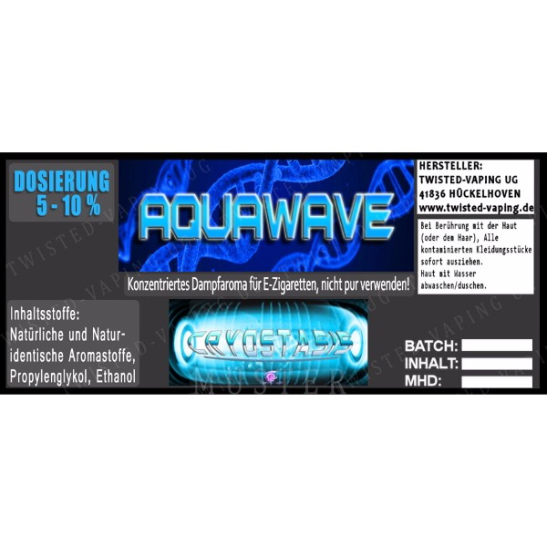 Aroma Cryostasis Aquawave