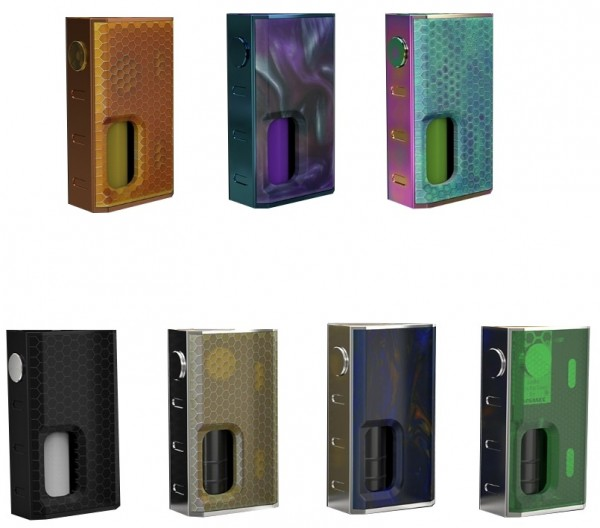 Wismec Luxotic 100 Watt  Squonker Mod