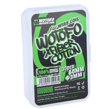 Wotofo Profile Agleted Organic Cotton / Schnürsenkel Watte