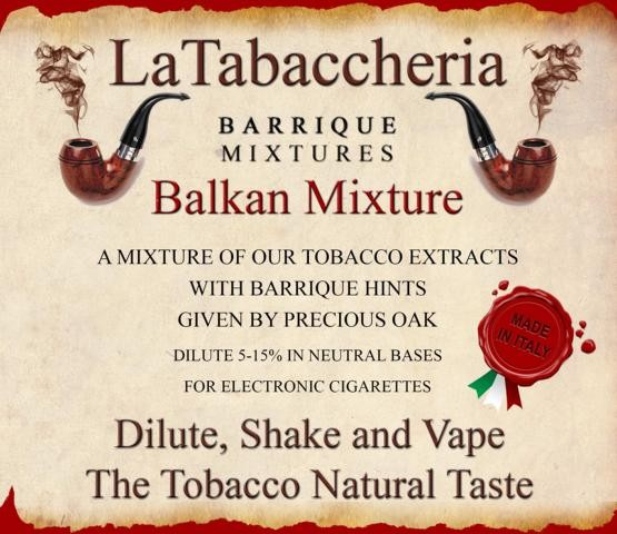Aroma Barrique Balkan Mixture
