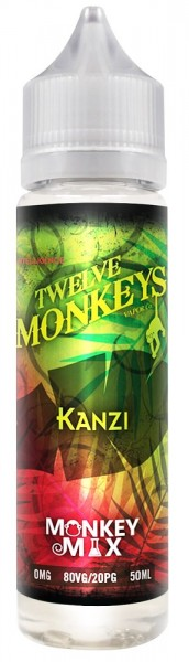Liquid Kanzi - Twelve Monkeys 50ml/60ml