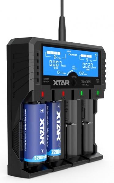 XTAR VP4 Plus Dragon Akku-Ladegerät
