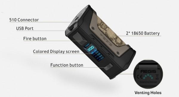 Geekvape Aegis Legend Kit mit Aero Verdampfer