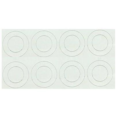 8 HPVC Isolierscheiben für 18650er Akkuzellen