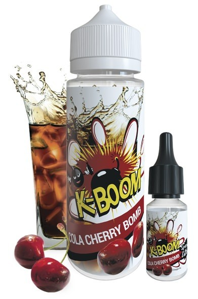 Aroma Cola Cherry Bomb - K-Boom Special Edition