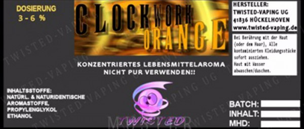 Aroma Clockwork Orange